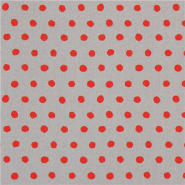 Echino / Dot / Grey Red