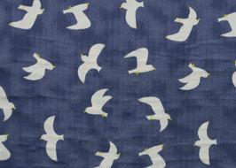 Tréfle / Seagulls / Storm / Double Gauze / REST 82 x 110 cm