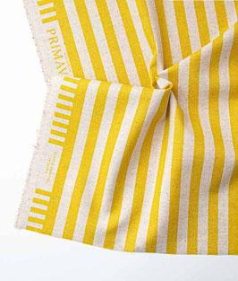 Cotton+Steel / Primavera /  Cabana Stripe / Yellow / Canvas