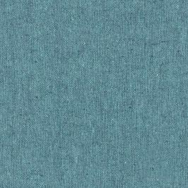 Robert Kaufman / Essex Yarn Dyed / Malibu / Baumwoll-Leinenstoff