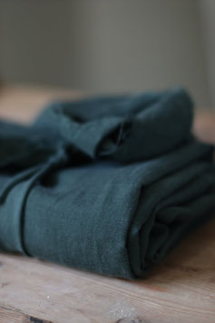 Meet Milk / Deep Green / Slub Linen Blend