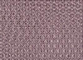 Asanoha / Lilac / REST 85x110 cm