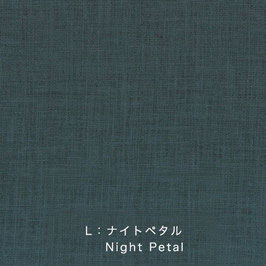 Nani Iro / Linen Colors  / L Night Petal / Leinen