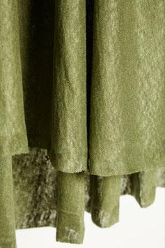 Mind the Maker / Fine Linen Knit / Olive Green