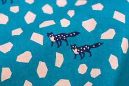 Echino / Stone / Blue Turquoise
