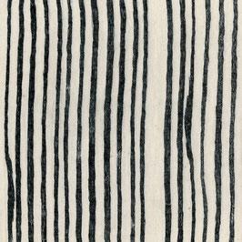 Nani Iro Nani Iro / BEAU Yin Yang  / AAAA SAAA Noir / Off-white / Double Gauze
