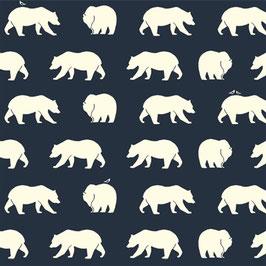 Birch Organic Fabrics / Bear Hike / Dusk / Popeline