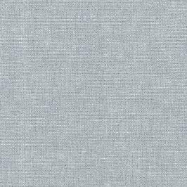 Robert Kaufman / Essex Yarn Dyed Metallic / Fog / Baumwoll-Leinenstoff