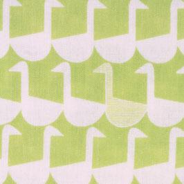 Ellen Baker für Kokka / Framework / Sitting Geese / Chartreuse / Double Gauze