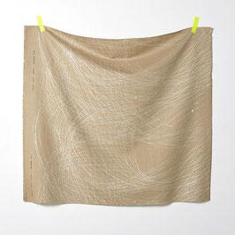 Nani Iro / Formen  / A  / Herringbone Canvas / Leinen-Baumwollstoff