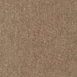 Robert Kaufman / Essex Yarn Dyed / Nutmeg / Baumwoll-Leinenstoff