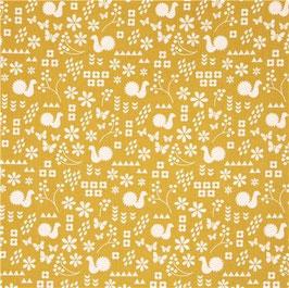 Ellen Baker für Kokka Garden/Dutch Garden/Mustard