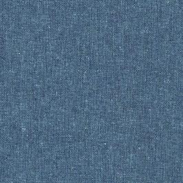 Robert Kaufman / Essex Yarn Dyed / Peacock / Baumwoll-Leinenstoff