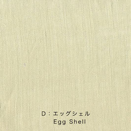 Nani Iro / Linen Colors  / D Egg Shell / Leinen