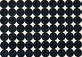 Number Five / Dots / Black / laminiert