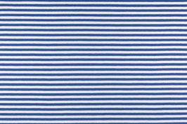 Lillestoff / Ringeljersey / Weiss - Blau