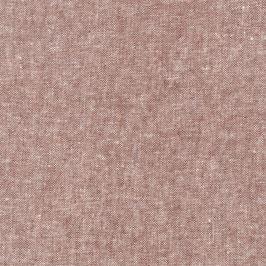 Robert Kaufman / Essex Yarn Dyed / Rust / Baumwoll-Leinenstoff