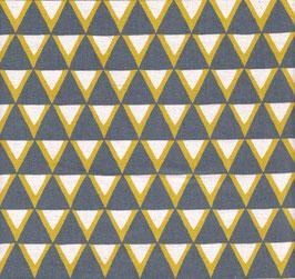 Ellen Baker für Kokka/ Triangle Grau