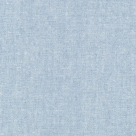 Robert Kaufman / Essex Yarn Dyed Metallic / Water / Baumwoll-Leinenstoff