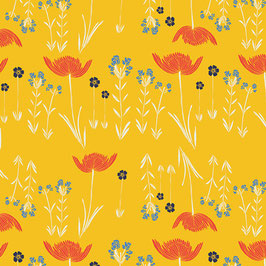 Art Gallery Fabrics / Meadow / Savanna Glow Golden