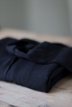 Meet Milk / Black / Slub Linen Blend