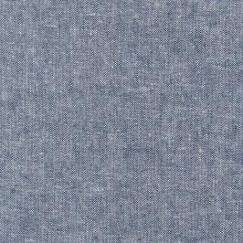 Robert Kaufman / Essex Yarn Dyed / Indigo / Baumwoll-Leinenstoff