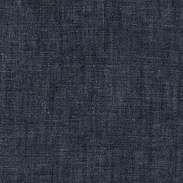 10. Robert Kaufman / Cotton-Linen Chambray / Indigo Crosshatch Washed