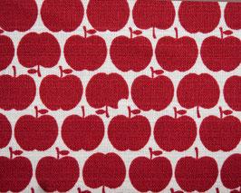 Westex / Äpfel / rot / REST 90 x 110 cm