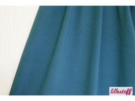 Lillestoff / Uni Jersey / Rauchblau