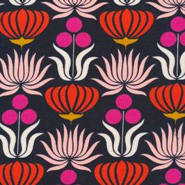 Cloud9 Fabrics / A Walk Remembered / Native Flowers / Bio-Cordstoff