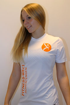 "T-Shirt ""NIKE PERFOMANCE"" Weiß/ Orange Men & Woman"