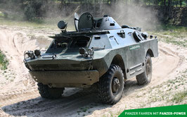Erlebnisgutschein SPW-40 Panzer fahren