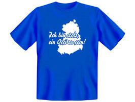 """T-Shirt """"Ich bin stolz, ein Ossi zu sein!"""""""