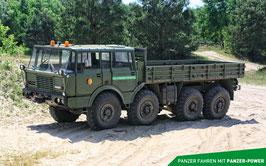 Erlebnisgutschein LKW Tatra 813 fahren