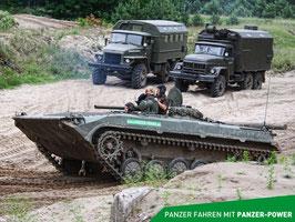 BMP-1 Panzer fahren