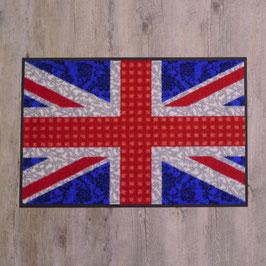 """Waschbare Fußmatte """"Great Britain"""" von wash+dry"""