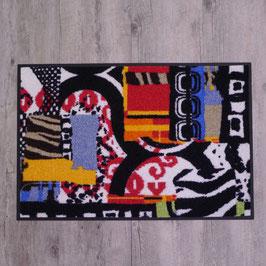 """Waschbare Fußmatte """"Afropatch"""" von wash+dry"""