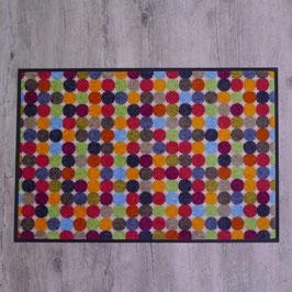 """Waschbare Fußmatte """"Mikado Dots"""" von wash+dry"""