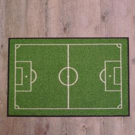 """Waschbare Fußmatte """"Fußballfeld"""" von wash+dry"""