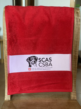 Frottee-Gästetuch mit SCAS Clublogo