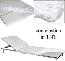 MONOUSO - COPRILETTINO IN TNT CON ELASTICI