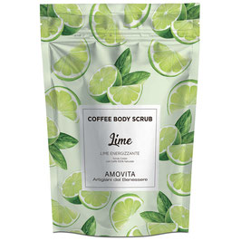 COFFEE BODY SCRUB LIME ENERGIZZANTE