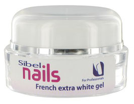 SIBEL - GEL FRENCH EXTRA WHITE