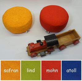Kinder-Kissen aus Kunstleder einfarbig (13)