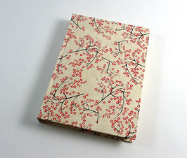 """Notizbuch A5  """"Kirschblüte"""""""