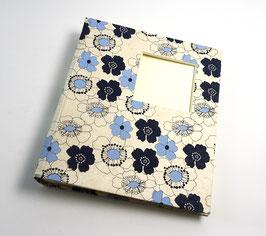 """Fotoalbum, mittel """"BlueBlossom"""""""