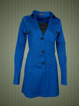Mini-Kleidchen blau