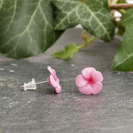 Blümchenohrstecker magnolie mini