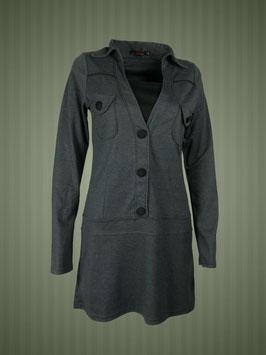 Mini-Kleidchen grau
