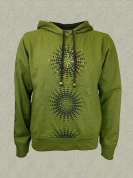 Mandala-Sweatshirt grün